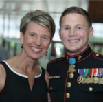 Kim Bradley and Kyle Carpenter
